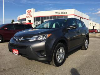 Used 2014 Toyota RAV4 LE AWD w/ Backup Camera, Heated Seats for sale in Etobicoke, ON