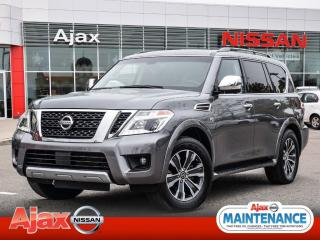 Used 2017 Nissan Armada SL*Nav*Leather*8 Passenger*Warranty Remaining for sale in Ajax, ON
