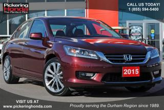 Used 2015 Honda Accord Sport DUAL EXHAUST SUNROOF ALLOYS for sale in Pickering, ON