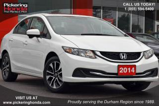 Used 2014 Honda Civic EX REAR & SIDE CAMERA SUNROOF BLUETOOTH for sale in Pickering, ON