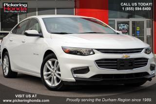 Used 2017 Chevrolet Malibu LT w/1LT LEATHER TINT BLUETOOTH for sale in Pickering, ON