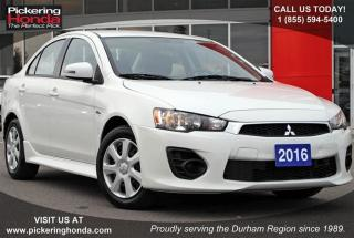 Used 2016 Mitsubishi Lancer SE Limited 5MT for sale in Pickering, ON