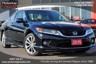 Used 2015 Honda Accord EX-L-NAVI V6 SUNROOF for sale in Pickering, ON