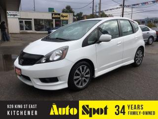 Used 2013 Honda Fit Sport/PERFECT CAR!/PRICED FOR A QUICK SALE ! for sale in Kitchener, ON