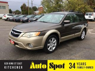 Used 2008 Subaru Outback 2.5i w/Limited Pkg/LOW,LOW KMS! for sale in Kitchener, ON