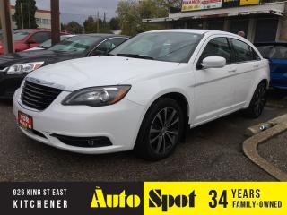Used 2011 Chrysler 200 S/NAVI-LOADED/LOW, LOW KMS! for sale in Kitchener, ON