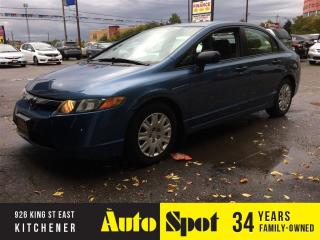 Used 2008 Honda Civic DX/LOW, LOW KMS!/RARE AND LIKE NEW ! for sale in Kitchener, ON