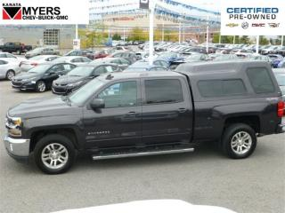 Used 2016 Chevrolet Silverado 1500 LT 6ASSIST STEPS RANCH TRUCK CAP LED FOG LAMPS for sale in Ottawa, ON