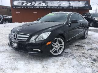 Used 2011 Mercedes-Benz E-Class E550 for sale in St Catharines, ON