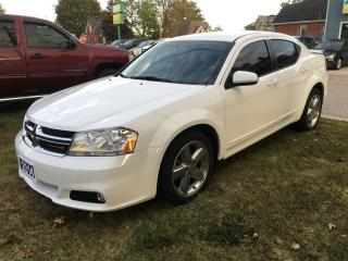 Used 2014 Dodge Avenger SXT  V6   ***SOLD*** for sale in Belmont, ON