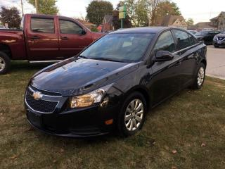 Used 2011 Chevrolet Cruze LT Turbo for sale in Belmont, ON