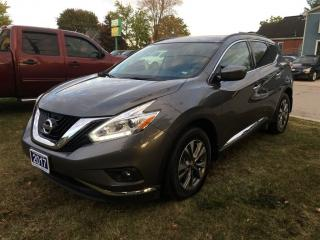Used 2017 Nissan Murano SV  AWD  NAV., ROOF. ***SOLD*** for sale in Belmont, ON