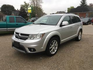 Used 2012 Dodge Journey CREW  7  PASSENGER. for sale in Belmont, ON