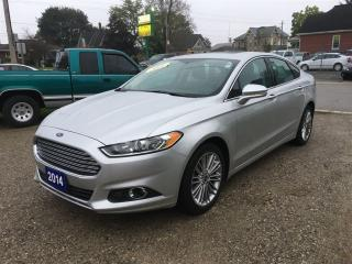 Used 2014 Ford Fusion SE  LUXURY  AWD. 2.0L - ECOBOOST for sale in Belmont, ON