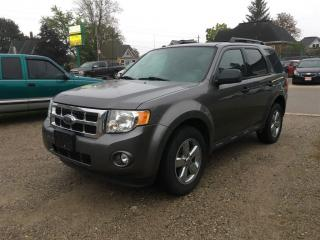 Used 2010 Ford Escape XLT  V6  LEATHER, ROOF for sale in Belmont, ON