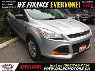 Used 2014 Ford Escape S for sale in Hamilton, ON