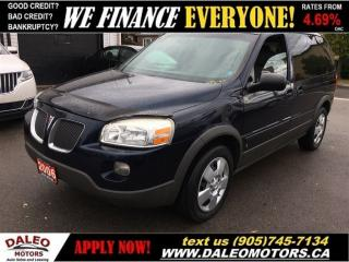 Used 2006 Pontiac Montana Sv6 FWD w/1SA for sale in Hamilton, ON