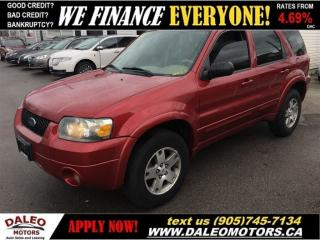 Used 2005 Ford Escape Limited for sale in Hamilton, ON