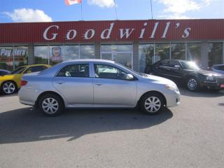 Used 2010 Toyota Corolla CE! CLEAN CARPROOF! FREE OF ACCIDENTS! for sale in Aylmer, ON