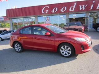 Used 2013 Mazda MAZDA3 GX! PREVIOUS DAILY RENTAL! for sale in Aylmer, ON