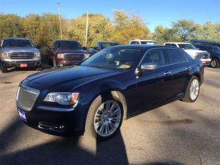 Used 2014 Chrysler 300C LUXURY SERIES! HEATED, COOLED, LEATHER SEATS! for sale in Aylmer, ON