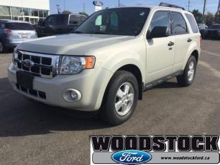 Used 2009 Ford Escape XLT for sale in Woodstock, ON