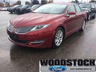 Used 2014 Lincoln MKZ Base - Leather Seats -  Bluetooth for sale in Woodstock, ON