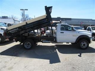 Used 2018 Dodge Ram 5500 reg cab  4x4 diesel new 12 ft steel dump box for sale in Richmond Hill, ON