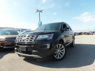 Used 2016 Ford Explorer LIMITED 3.5L V6 for sale in Midland, ON