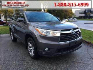 Used 2016 Toyota Highlander HYBRID for sale in Richmond, BC