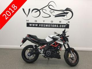 Used 2018 Aprilia Shiver 900 - No Payments For 1 Year** -DEMO for sale in Concord, ON