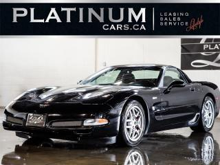 Used 2004 Chevrolet Corvette Z06, 405HP, 6SP MANU for sale in North York, ON