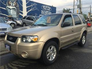 Used 2007 Ford Escape Limited for sale in Scarborough, ON
