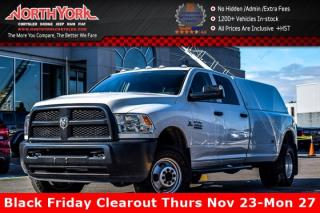 New 2016 Dodge Ram 3500 ST 4X4 Diesel Backup_Cam ParkSense Bluetooth CargoBox TowHitch CrewCab for sale in Thornhill, ON