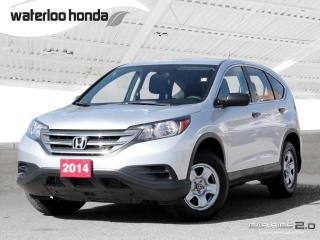 Used 2014 Honda CR-V LX Back Up Camera, Heated Seats and more! for sale in Waterloo, ON