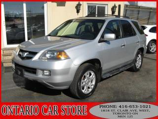 Used 2006 Acura MDX AWD TOURING LEATHER SUNROOF for sale in Toronto, ON