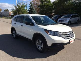Used 2014 Honda CR-V LX..accident free..1 owner.. for sale in Milton, ON