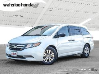 Used 2015 Honda Odyssey SE One Owner, Bluetooth, Back Up Camera and More! for sale in Waterloo, ON