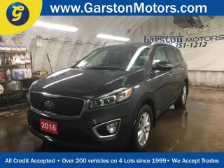 Used 2016 Kia Sorento LX*AWD*PHONE CONNECT*KEYLESS ENTRY*HEATED FRONT SEATS*ECO/SPORT MODE*CLIMATE CONTROL*TRACTION CONTROL* for sale in Cambridge, ON