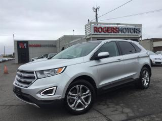 Used 2015 Ford Edge TITANIUM AWD - NAVI - PANORAMIC ROOF for sale in Oakville, ON