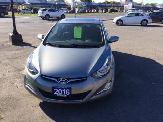 Used 2016 Hyundai Elantra Sport Appearance for sale in Morrisburg, ON