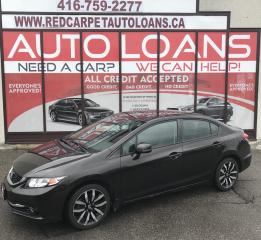Used 2013 Honda Civic Touring TOURING-ALL CREDIT ACCEPTED for sale in Scarborough, ON