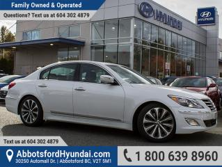 Used 2013 Hyundai Genesis 5.0 R-Spec ACCIDENT FREE, BC OWNED & GREAT CONDITION for sale in Abbotsford, BC