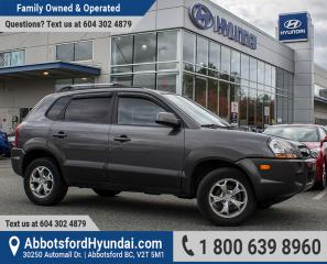 Used 2009 Hyundai Tucson GL V6 ACCIDENT FREE & BC OWNED for sale in Abbotsford, BC