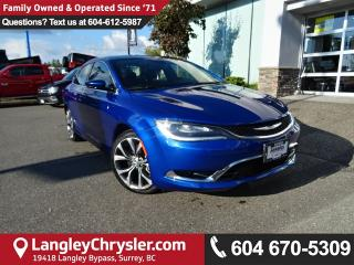 Used 2016 Chrysler 200 *ACCIDENT FREE*ONE OWNER*LOCAL BC CAR* for sale in Surrey, BC