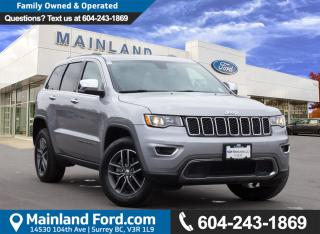 Used 2017 Jeep Grand Cherokee Limited NO ACCIDENTS for sale in Surrey, BC