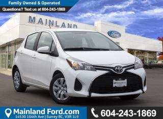 Used 2016 Toyota Yaris LE local for sale in Surrey, BC