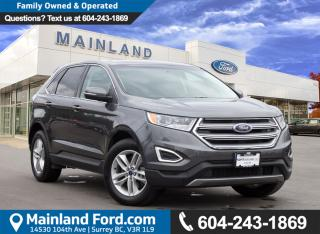 Used 2017 Ford Edge SEL NO ACCIDENTS, LOCAL for sale in Surrey, BC