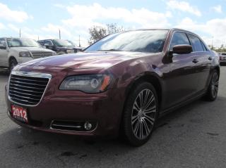 Used 2012 Chrysler 300 S V6 3 MONTHS OF SIRIUSXM FREE* $103.13 BI WEEKLY! $0 DOWN! CERTIFIED! for sale in Bolton, ON