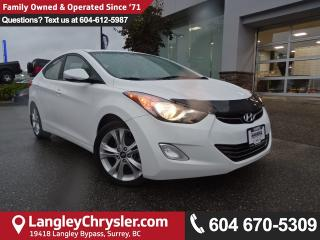 Used 2013 Hyundai Elantra Limited *ACCIDENT FREE * LOCAL BC CAR * for sale in Surrey, BC